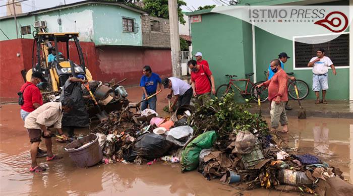 inundación en Juchitán2