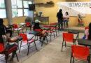 """Después de un año, vuelvan a las aulas en la Secundaria """"Enedino Jiménez"""" de Juchitán Oaxaca"""