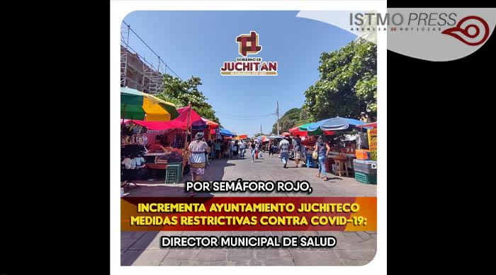 Juchitán semaforo rojo