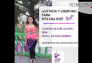 Libertad para la oaxaqueña Roxana!, claman colectivas tras su encarcelamiento por legítima defensa