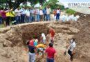Repara Ayuntamiento socavón en bordo del río, en la Novena sección