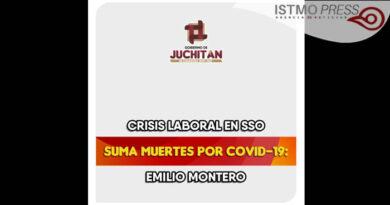 Crisis laboral en SSO suma muertes por Covid-19: Emilio Montero