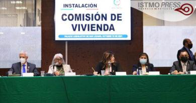 Apoyo y seguimiento pide Dip. Rosalinda Domínguez a los titulares de la SCT y SEDATU en el Istmo