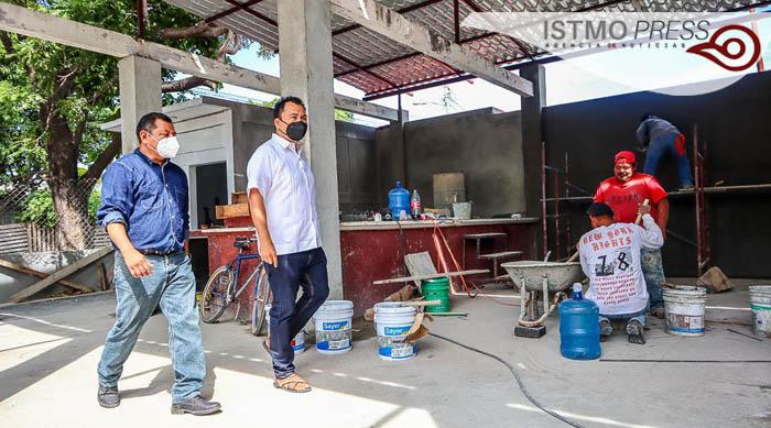 Más espacios deportivos recuperados del abandono, antes del fin de año: Emilio Montero