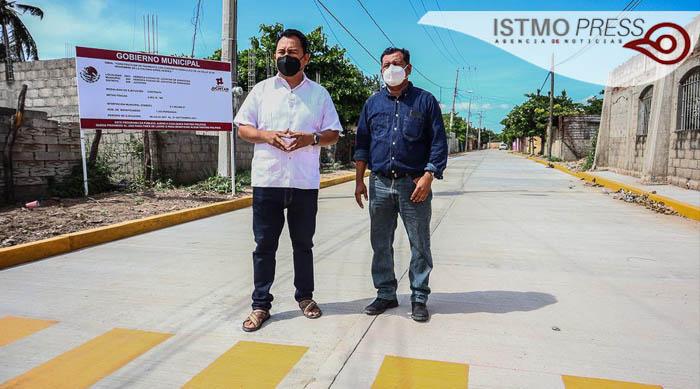 Construye Ayuntamiento obra estratégica en la Octava sección: Emilio Montero