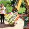 Colonia Los Pinos se beneficia con obras de pavimentación