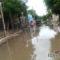 Juchitán inundada de aguas negras