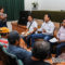 """""""A ponerse la camiseta"""" de la reconstrucción y la esperanza, llama Emilio Montero a trabajadores del ayuntamiento juchiteco"""