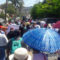 Marchan maestros de la sección 22 contra reforma energética y educativa en Oaxaca