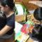Padres de niña con autismo adaptan su casa para que continúe su aprendizaje, porque presencial implica riesgos