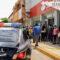 Guardar sana distancia en exteriores de bancos, exhorta a usuarios Ayuntamiento juchiteco